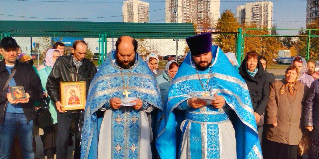 Молебен на Покров Пресвятой Богородицы