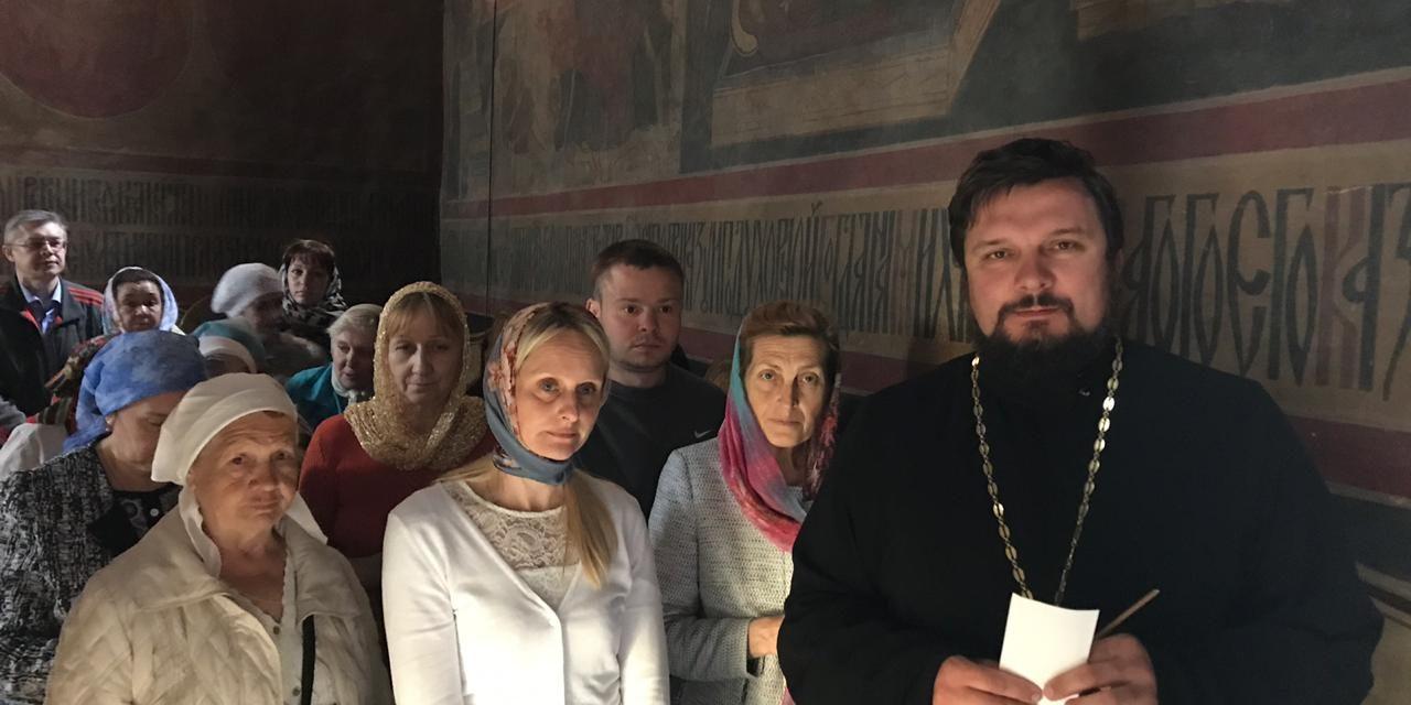 Паломническая приходская поездка в Свято-Троицкую Сергиеву Лавру
