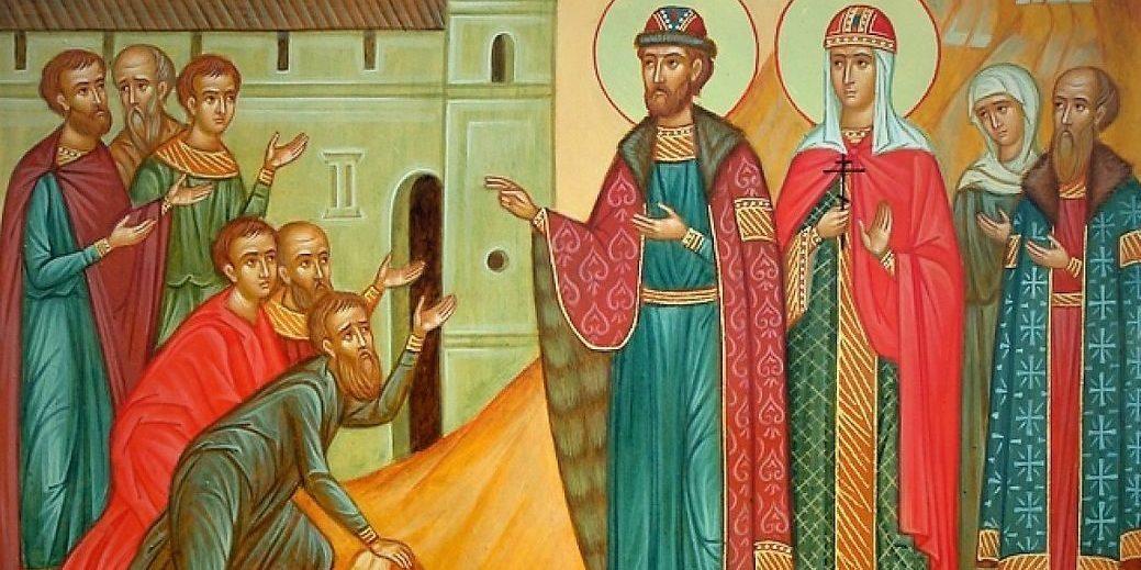 14 июля в Москву будут принесены мощи святых благоверных Петра и Февронии Муромских