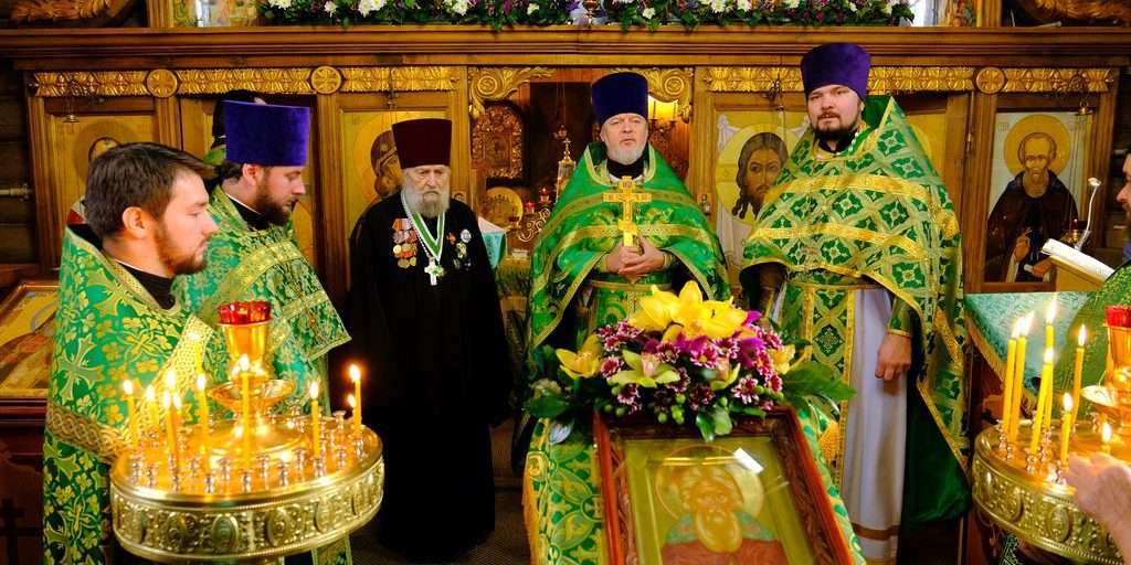 Престольный праздник. Поздравление протоирея Филиппа с юбилеем