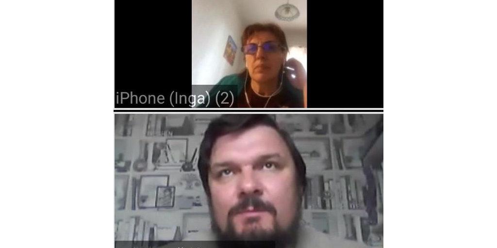Вторая онлайн-встреча с молодежью