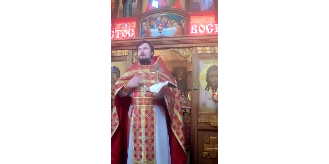 Проповедь иерея Андрея Коновалова о спасении