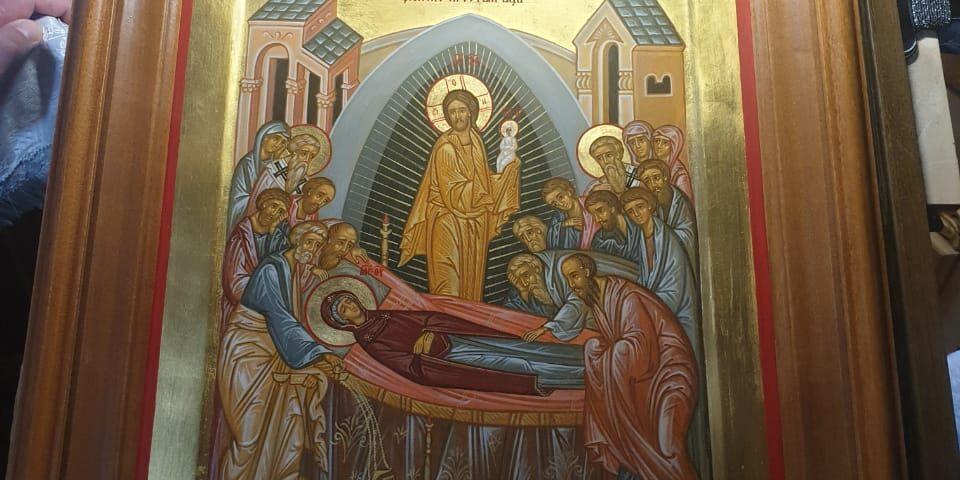 Икона Успения Пресвятой Богородицы для нового храма